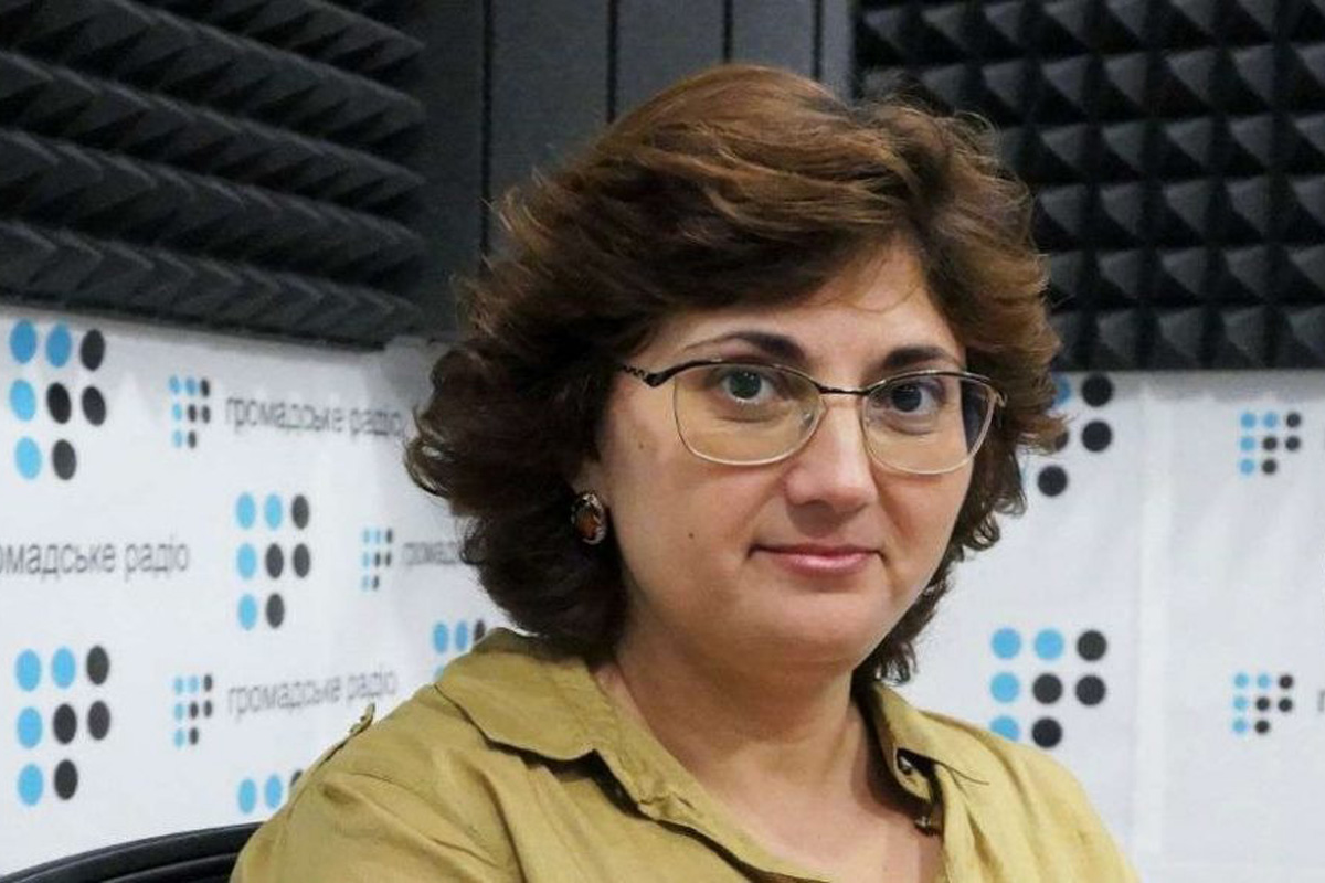 Александра Яновская / Источник: hromadskeradio.org