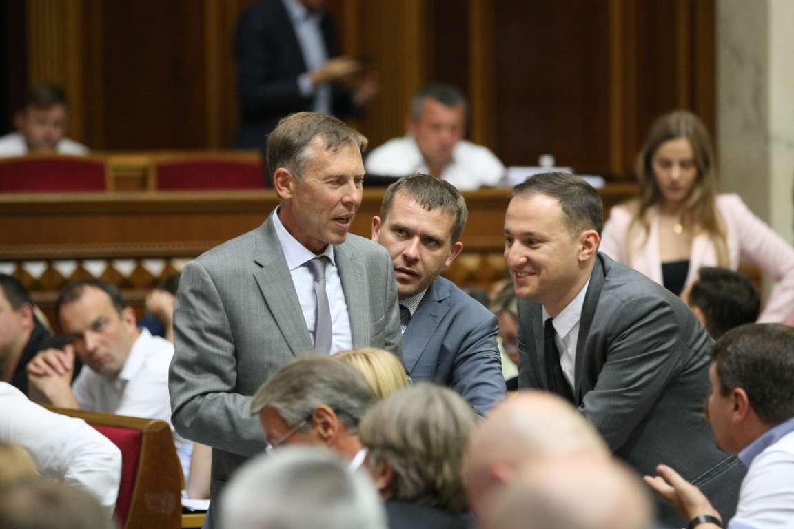 """""""Батьківщина"""" обвиняла коалицию в договоренностях с экс-""""регионалами"""""""