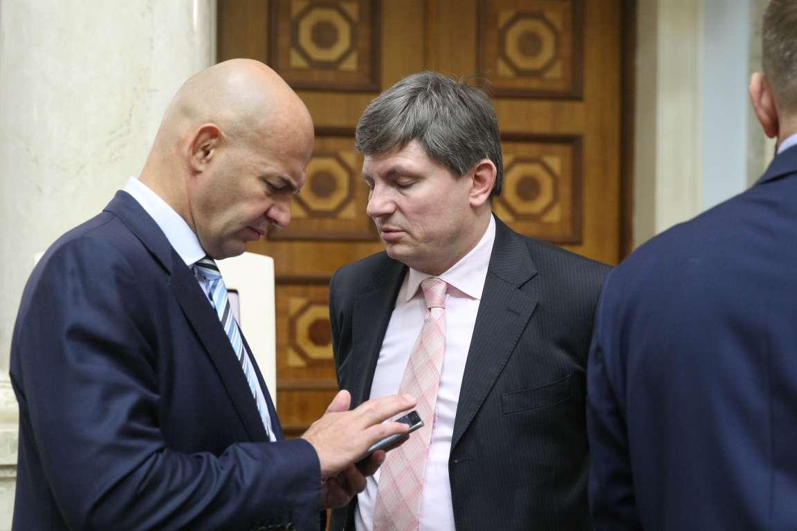 Лидеры фракции БПП не голосовали за бюджетные изменения премьера