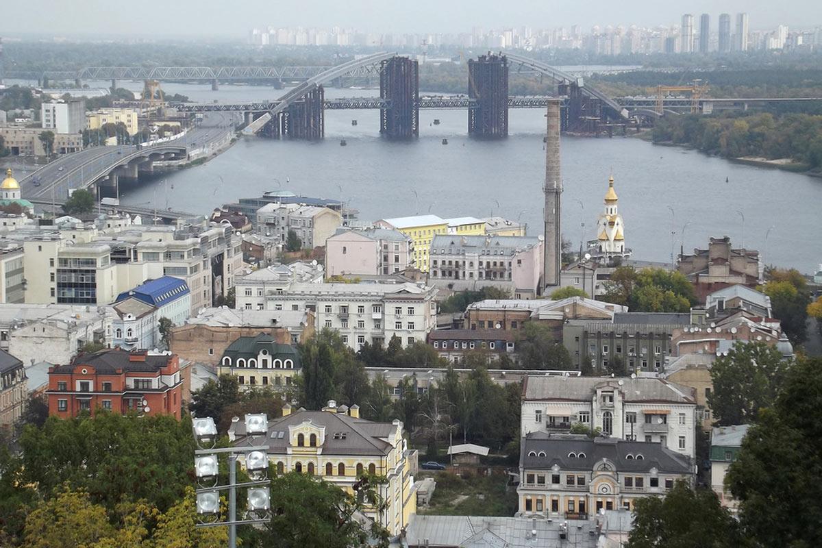 Киев, Подол / Источник: facebook.com/telegrafua