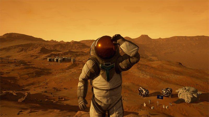 Граждане Земли уже могут прогуляться поМарсу