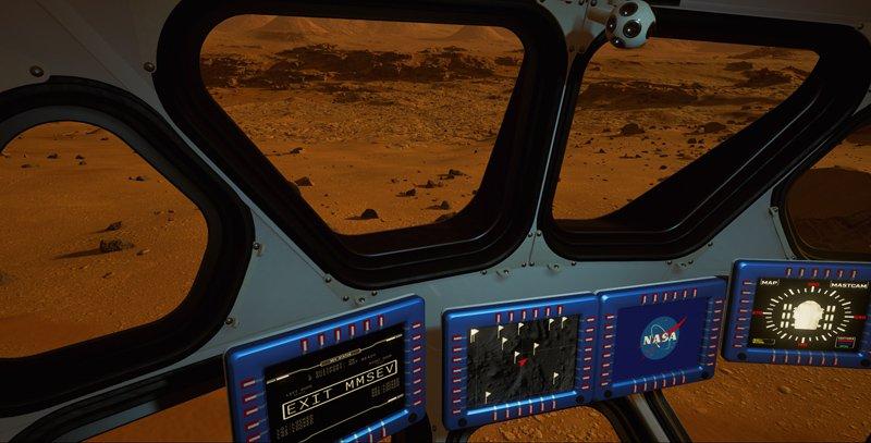 Марс сейчас можно изучать ввиртуальной реальности