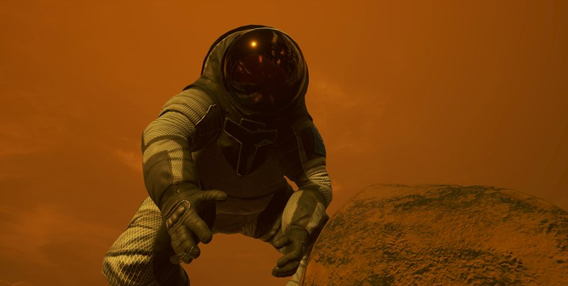 NASA покажет, какими станут прогулки поМарсу в 2030г.