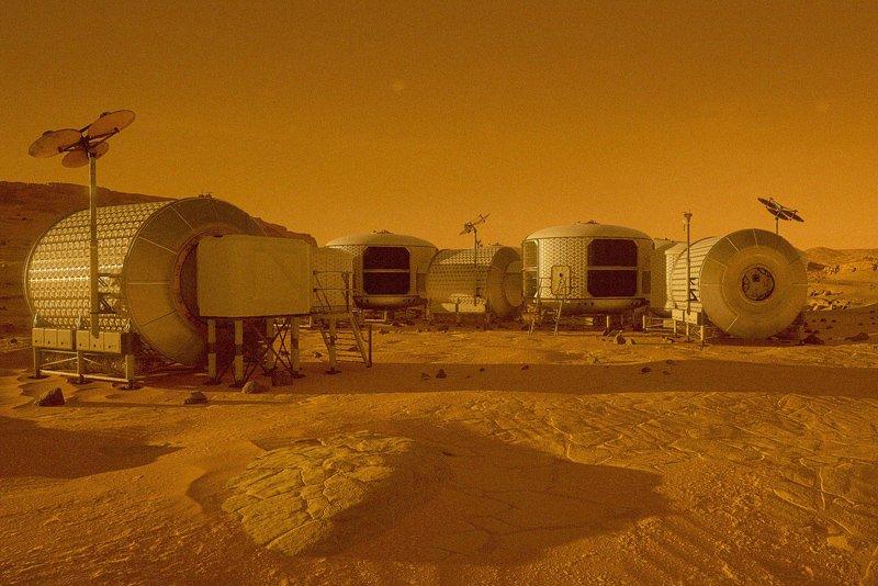 NASA покажет, какими станут прогулки поМарсу в 2030-ом году