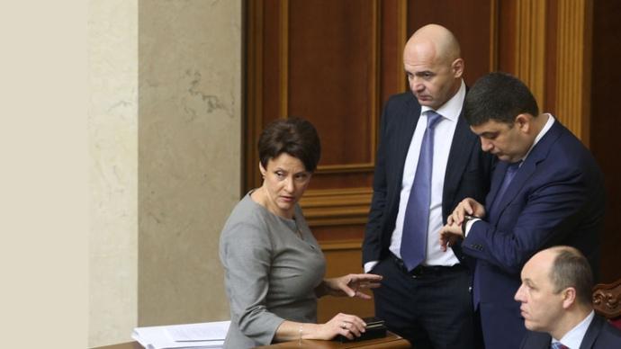 Нина Южанина и Игорь Кононенко в последнее время периодически проигрывают борьбу Владимиру Гройсману