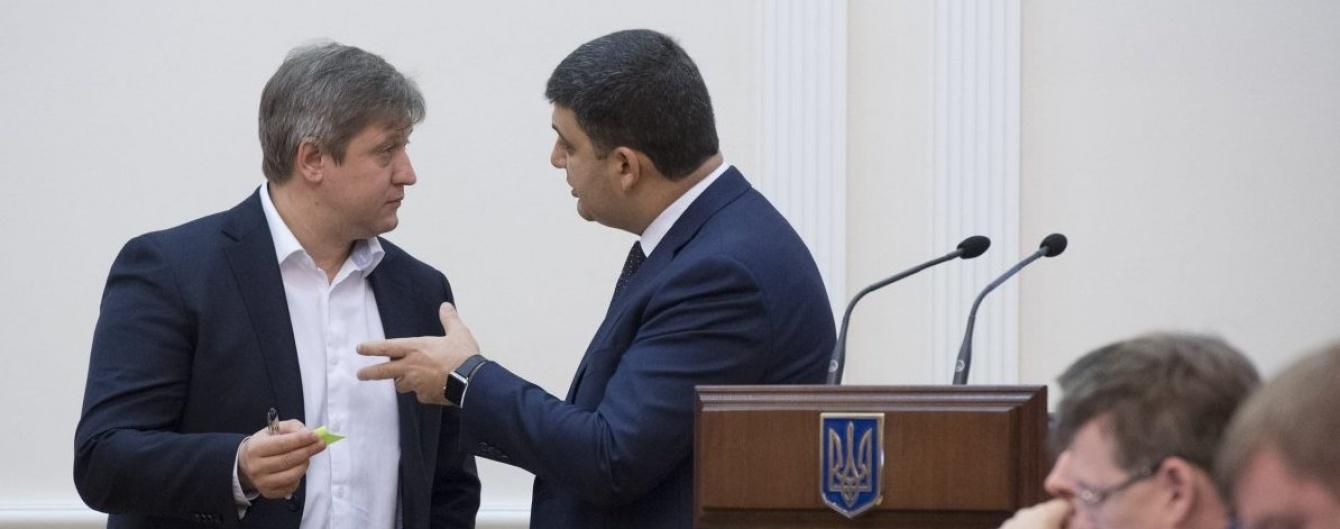 Отношения премьера Гройсмана и его подчиненного Данилюка вряд ли можно назвать особо доверительными