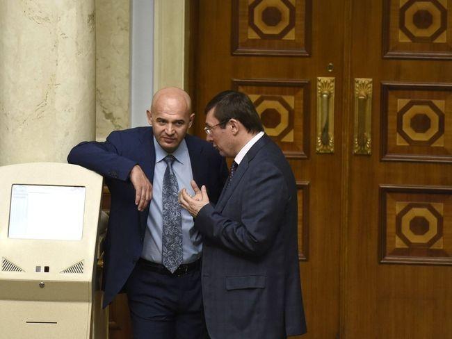У Игоря Кононенко всегда были неплохие отношения с генеральным прокурором Юрием Луценко