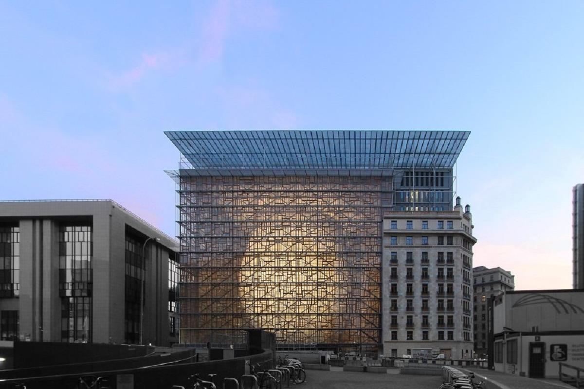 Здание совета ЕС / Wikipedia