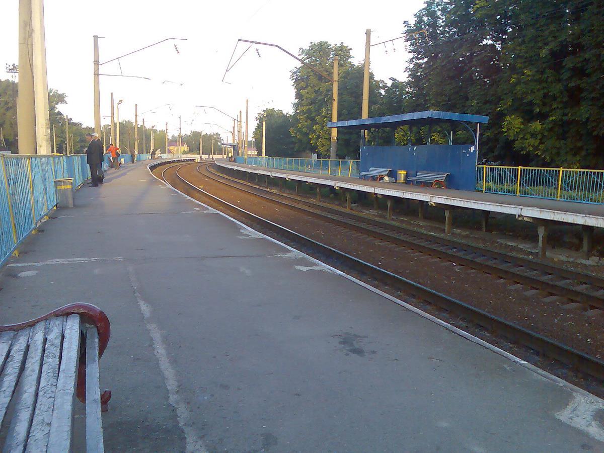 Станция Киев-Волынский / Википедия