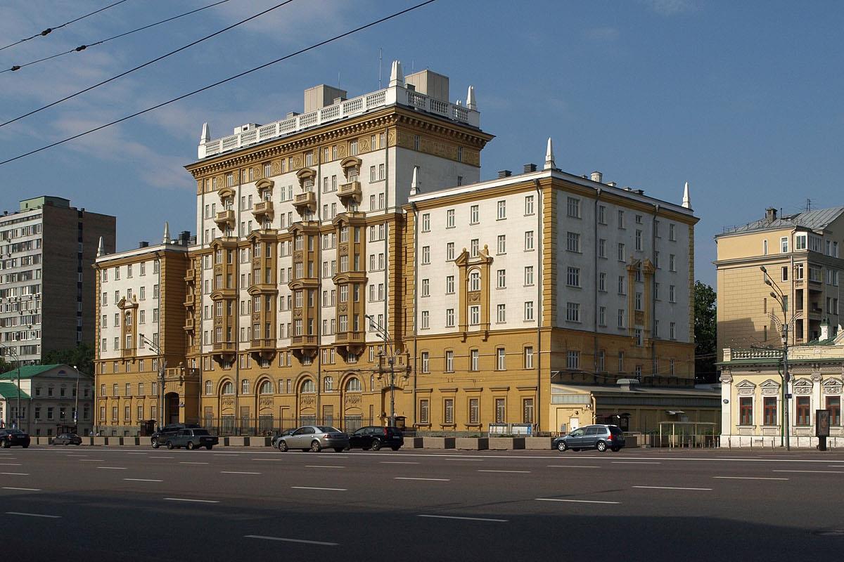 Посольство США в РФ / Wikipedia