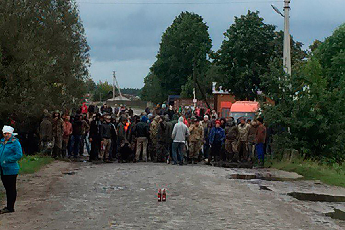 Фото с места событий / Источник: rv.npu.gov.ua