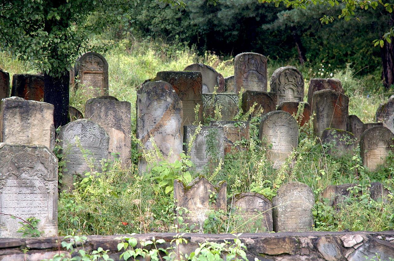 Еврейское кладбище в Самборе