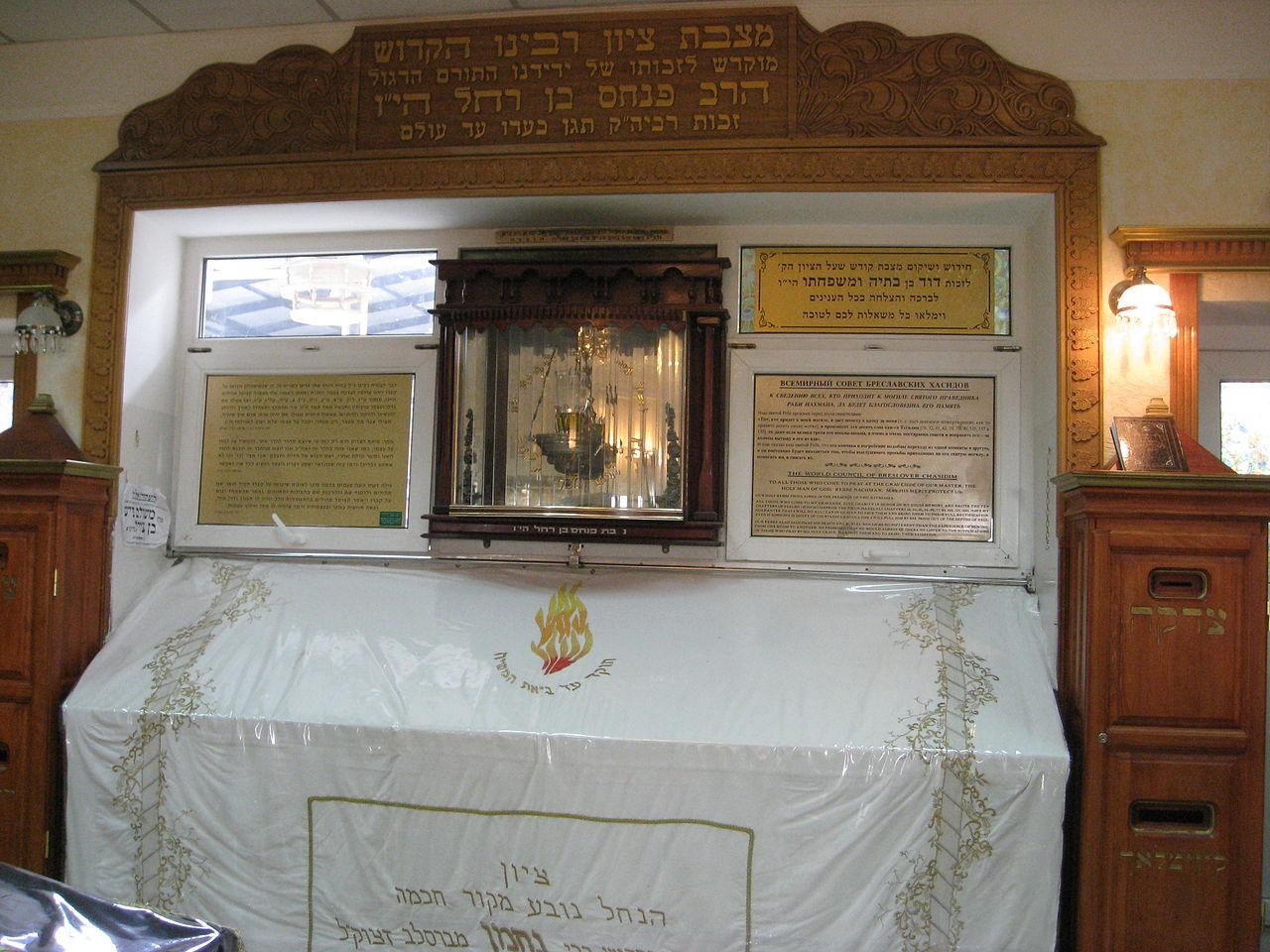 Надгробие Рабби Нахмана в Умани