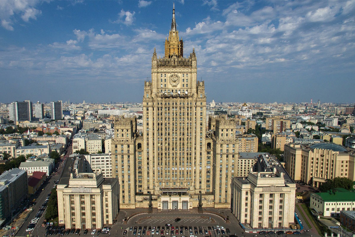 Здание МИД РФ в Москве / Источник: wikimedia.org