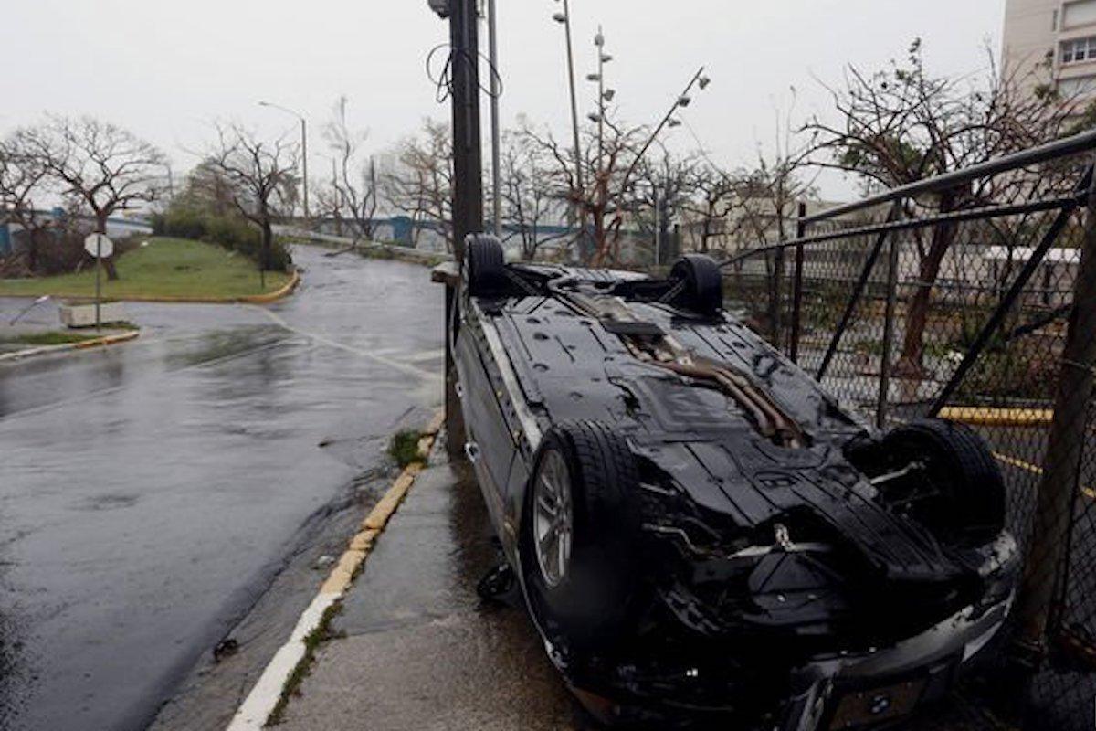 Циклон Мария оставил весь Пуэрто-Рико без электричества
