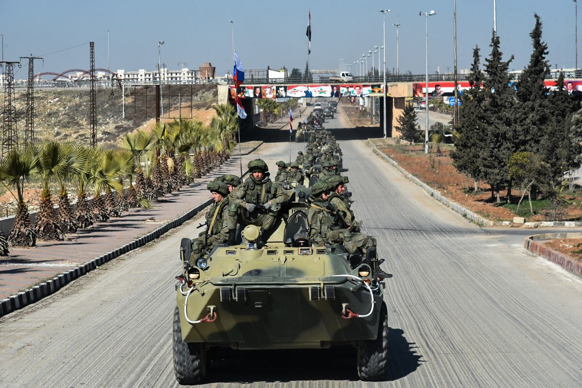 Военные покидают Алеппо