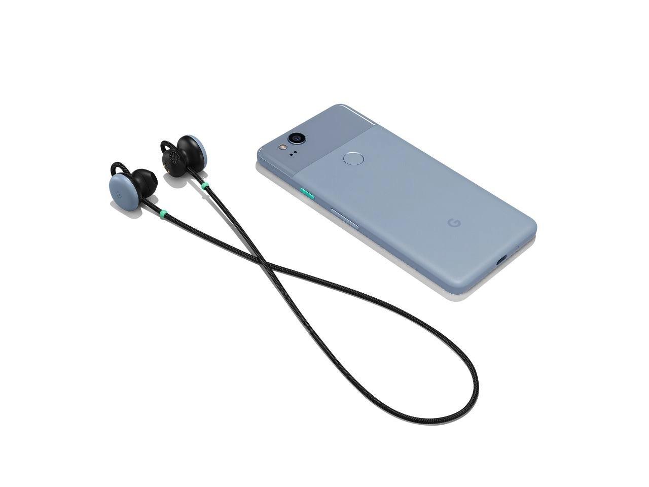 Google представила беспроводную Bluetooth-гарнитуру Pixel Buds