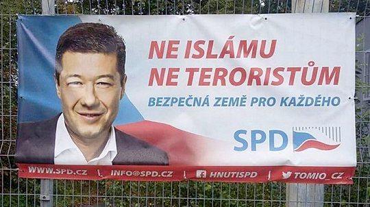 """Предвыборная агитация партии """"Свобода и прямая демократия"""" (SPD)"""