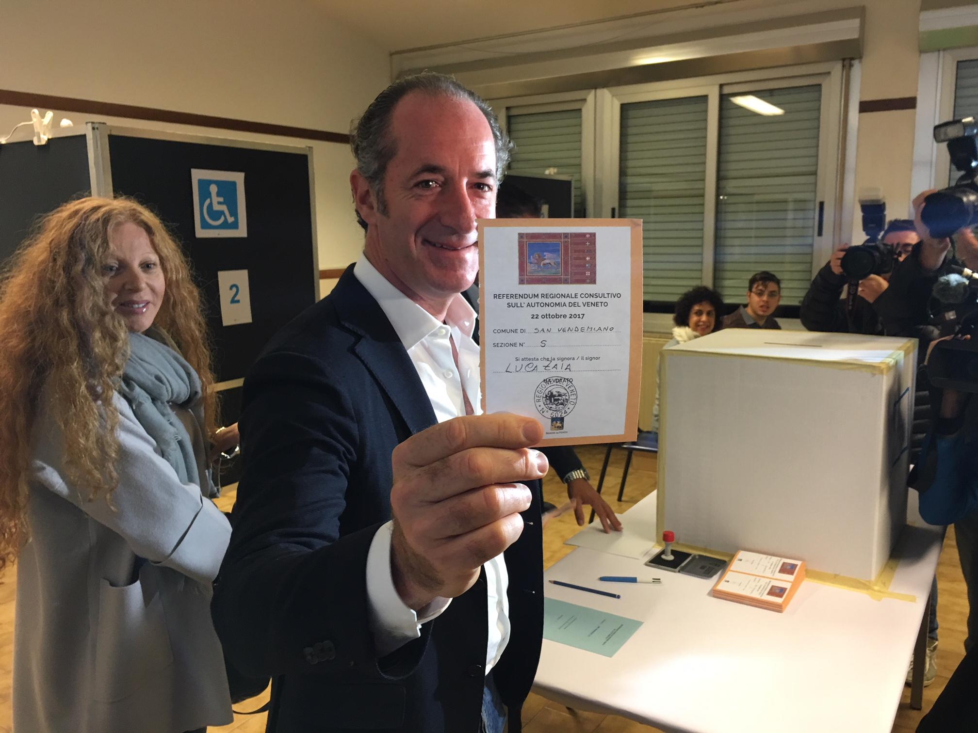 Референдум вИталии: два самых богатых региона высказались зарасширение автономии