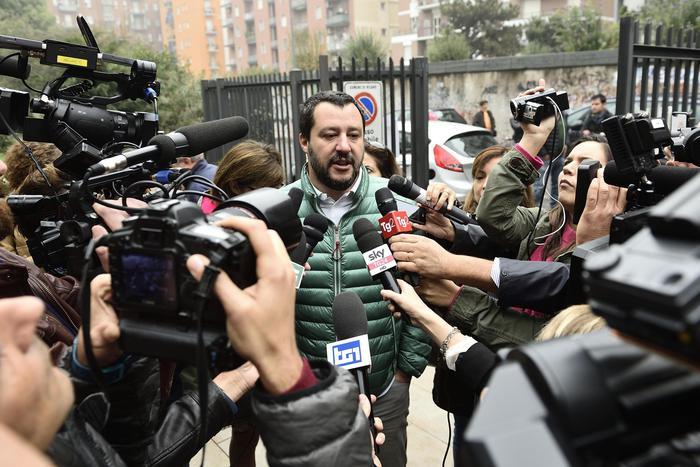 """Лидер итальянской партии """"Лига Севера"""" Маттео Сальвини / Источник: EPA"""