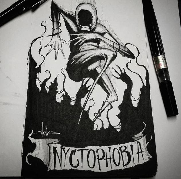 Никтофобия - боязнь темноты