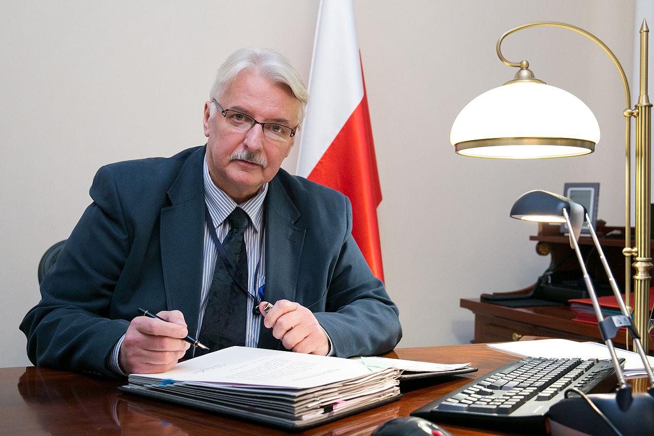 Министр иностранных дел Польши Витольд Ващиковский / Источник: Википедия