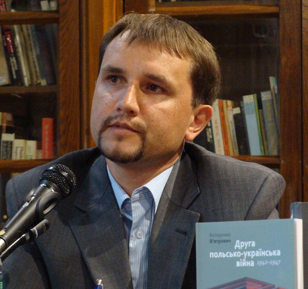 Глава Украинского Института национальной памяти Владимир Вятрович / Источник: Википедия