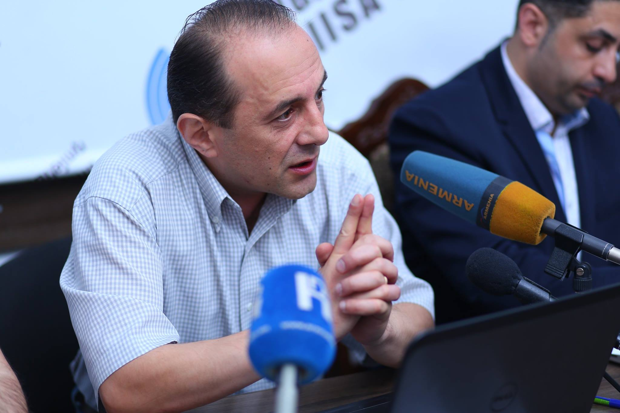 Рубен Меграбян, эксперт армянского Центра политических и международных исследований / Фото: Facebook