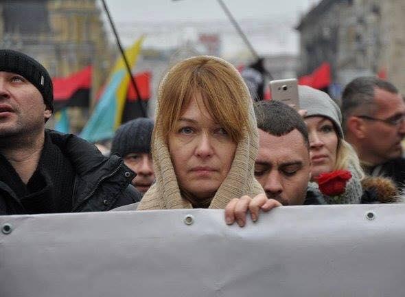Жена Саакашвили Сандра Рулофс / Источник: facebook.com/daryna.chyzh