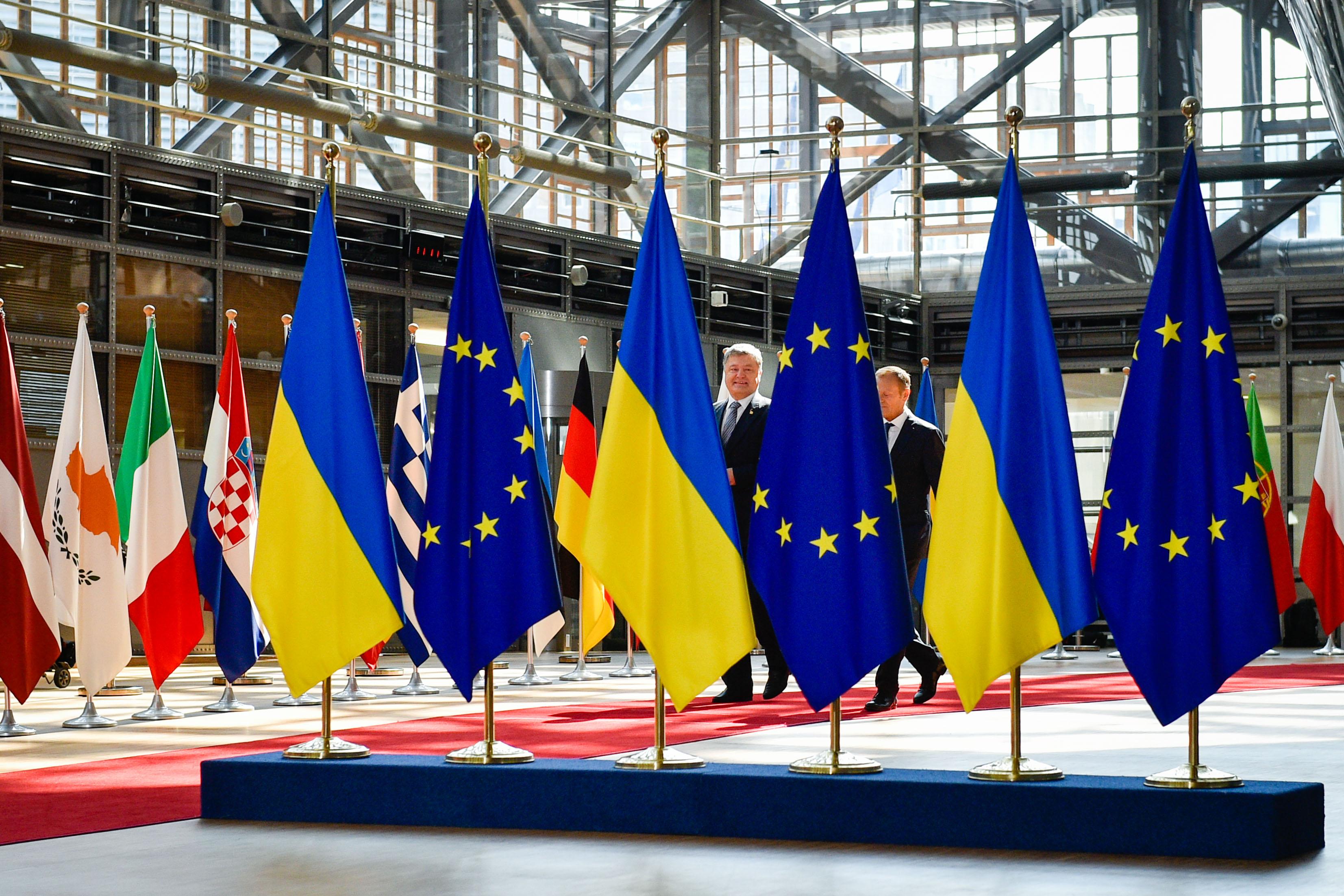 Поездка президента Украины в Брюссель / Источник: http://www.president.gov.ua