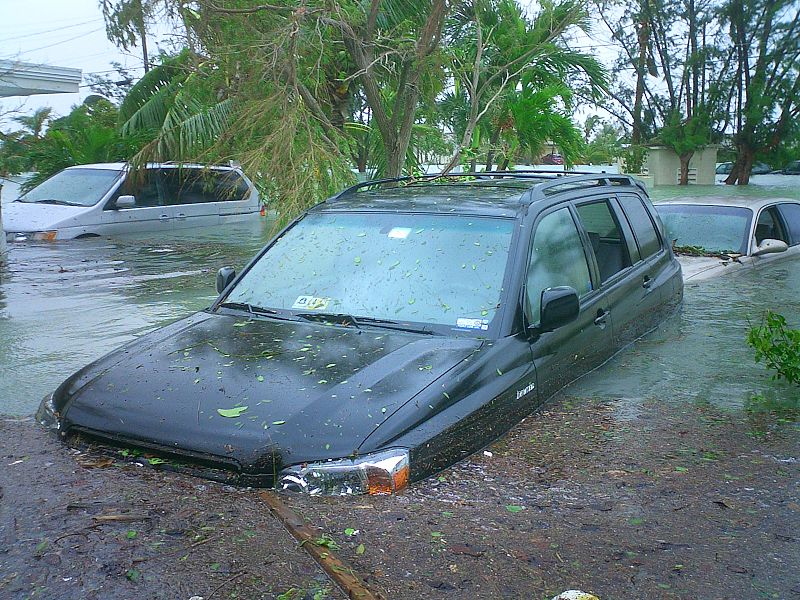 Паводок во Флориде (США) после урагана «Вильма», 2005 год. Источник: Wikipedia