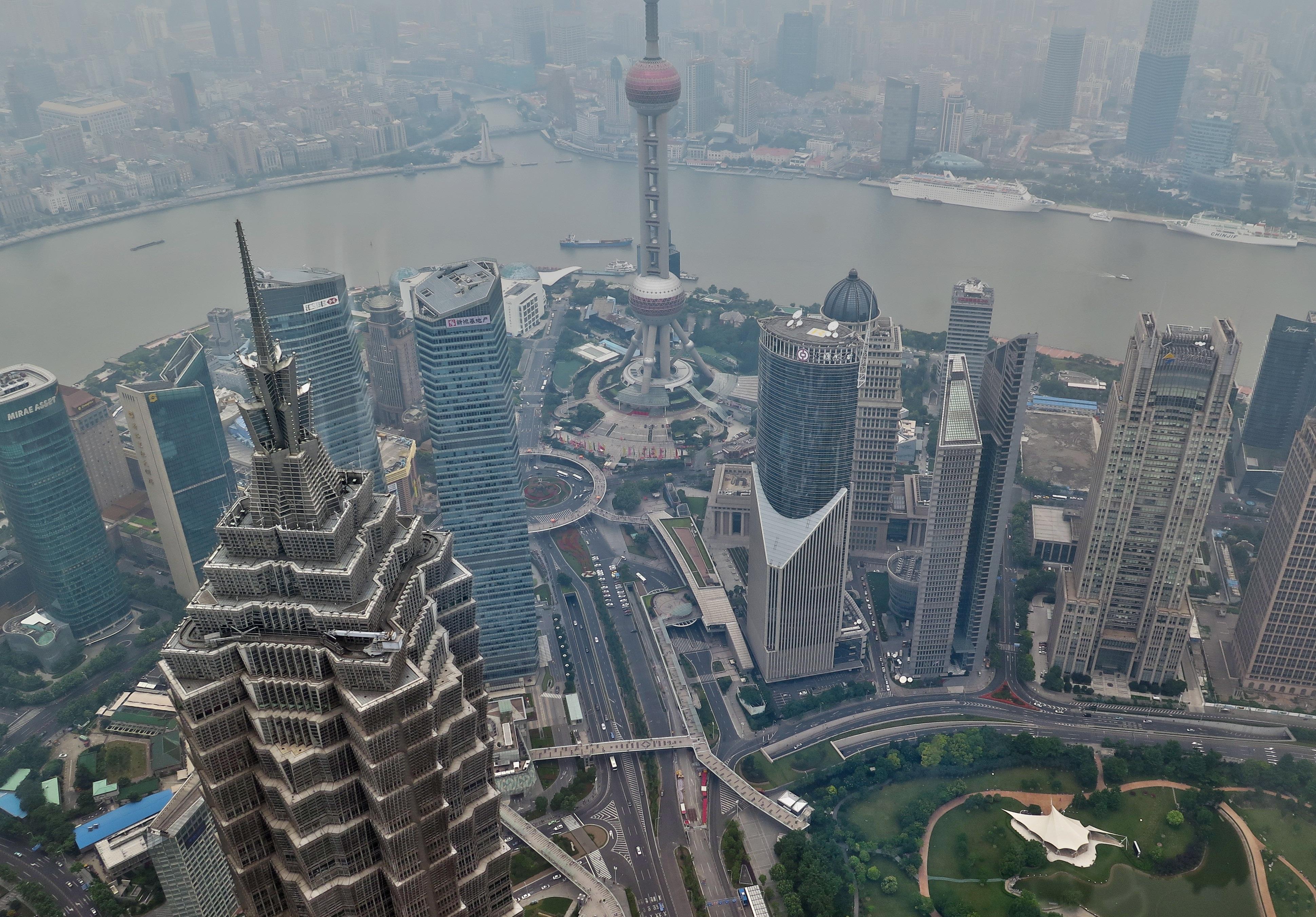 Смог в Шанхае / Источник: Pexels