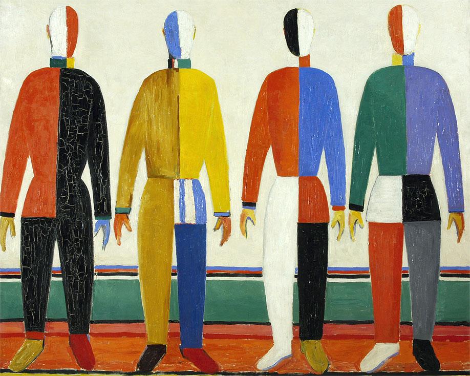 Картина Казимира Малевича «Атлеты» (1932)