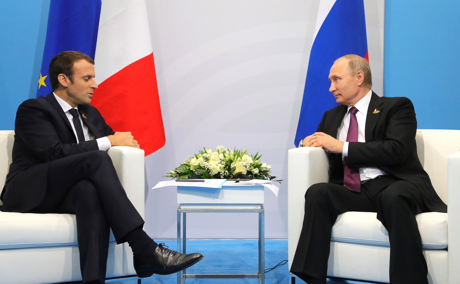 Французские компании недавно с удовольствием поехали в Москву на бизнес-форум, а вскоре туда отправится и Макрон