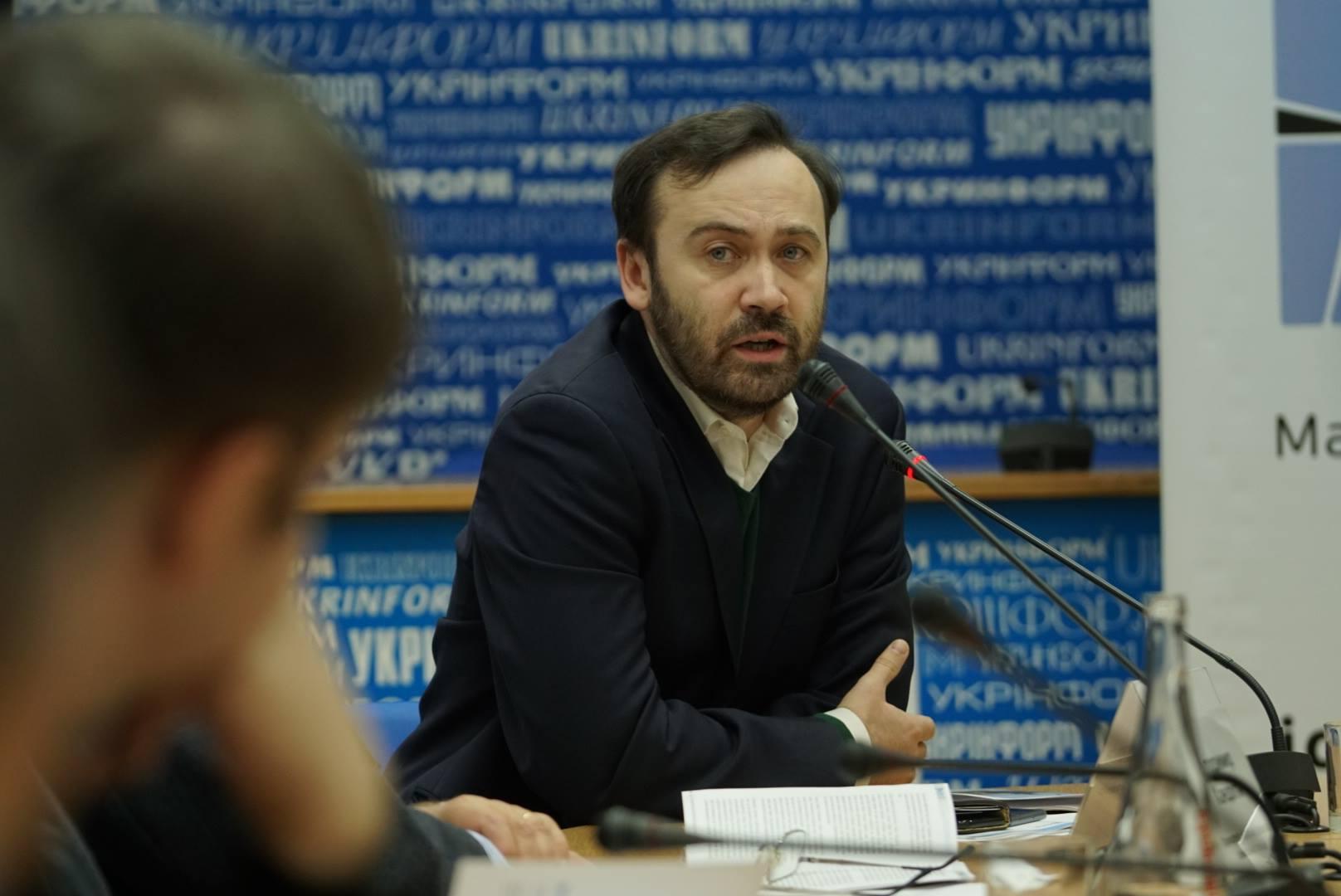 Экс-депутат Госдумы РФ Илья Пономарев / Источник: Facebook