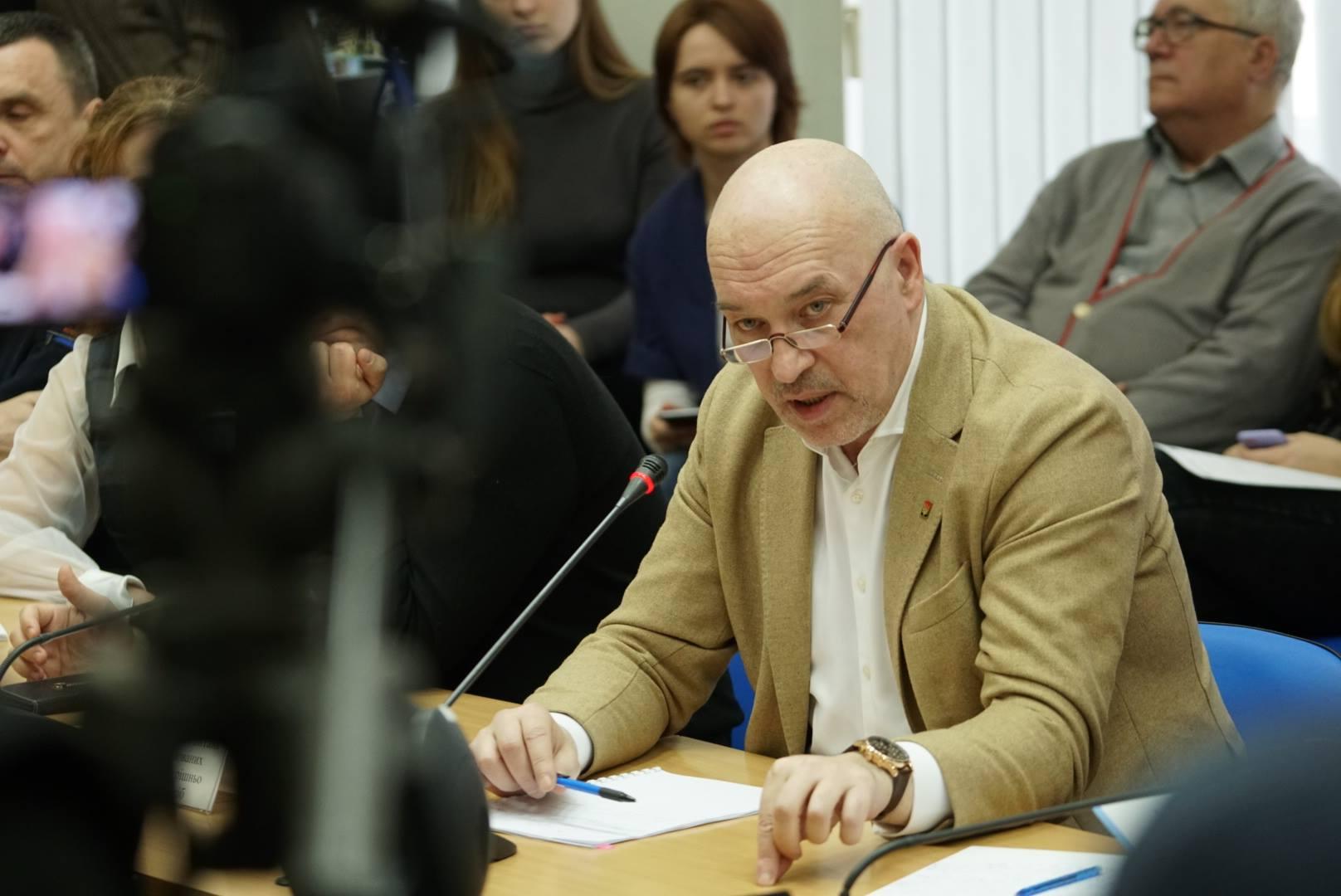 Заместитель министра по вопросам временно оккупированных территорий и внутренне перемещенных лиц Украины Георгий Тука / Источник: Facebook