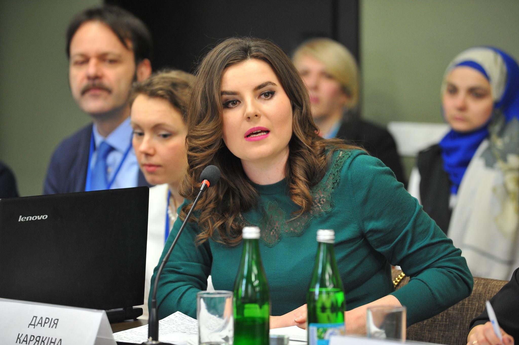 Член наблюдательного совета НОТУ в сфере обеспечения прав национальных меньшинств Дарья Карякина / Источник: Facebook