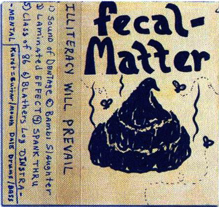Обложка демо-альбома Fecal Matter