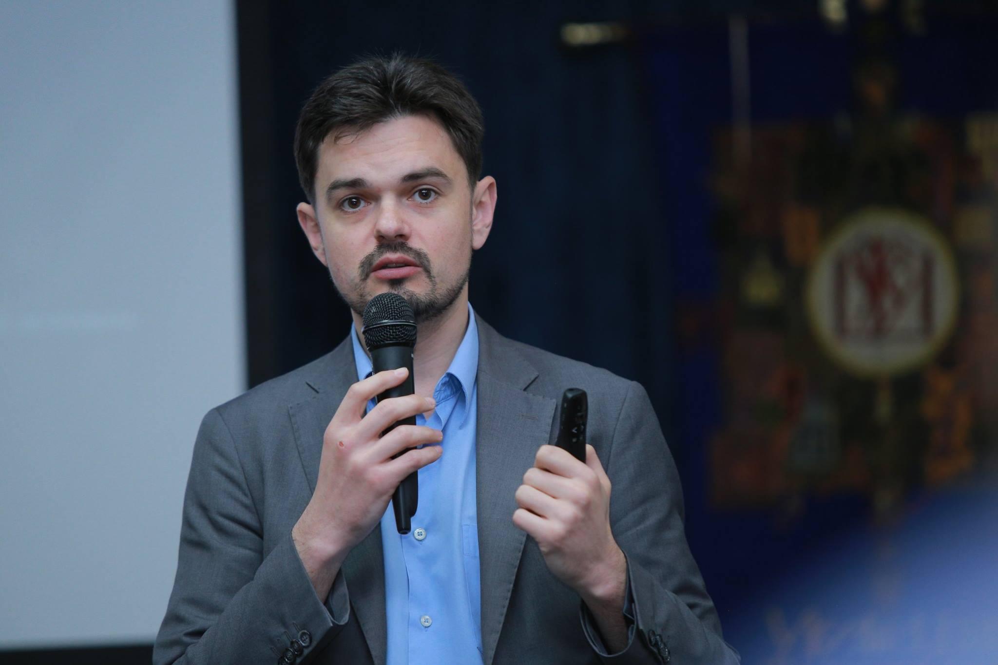Заместитель министра информационной политики Украины Дмитрий Золотухин / Источник: Facebook