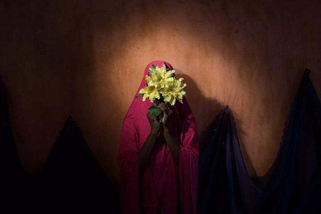 Нигерийская девушка, которую пыталась завербовать исламистская организация «Боко харам» / Фото: Адам Фергюсон
