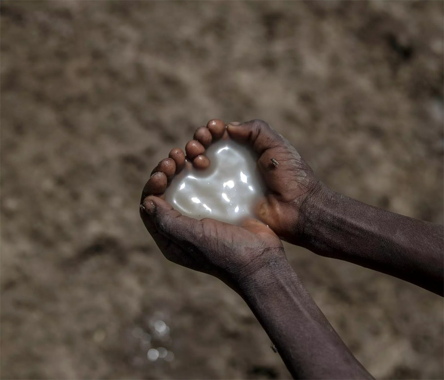 Грязная питьевая вода в юго-восточном Судане / Фото: Магнус Веннманн