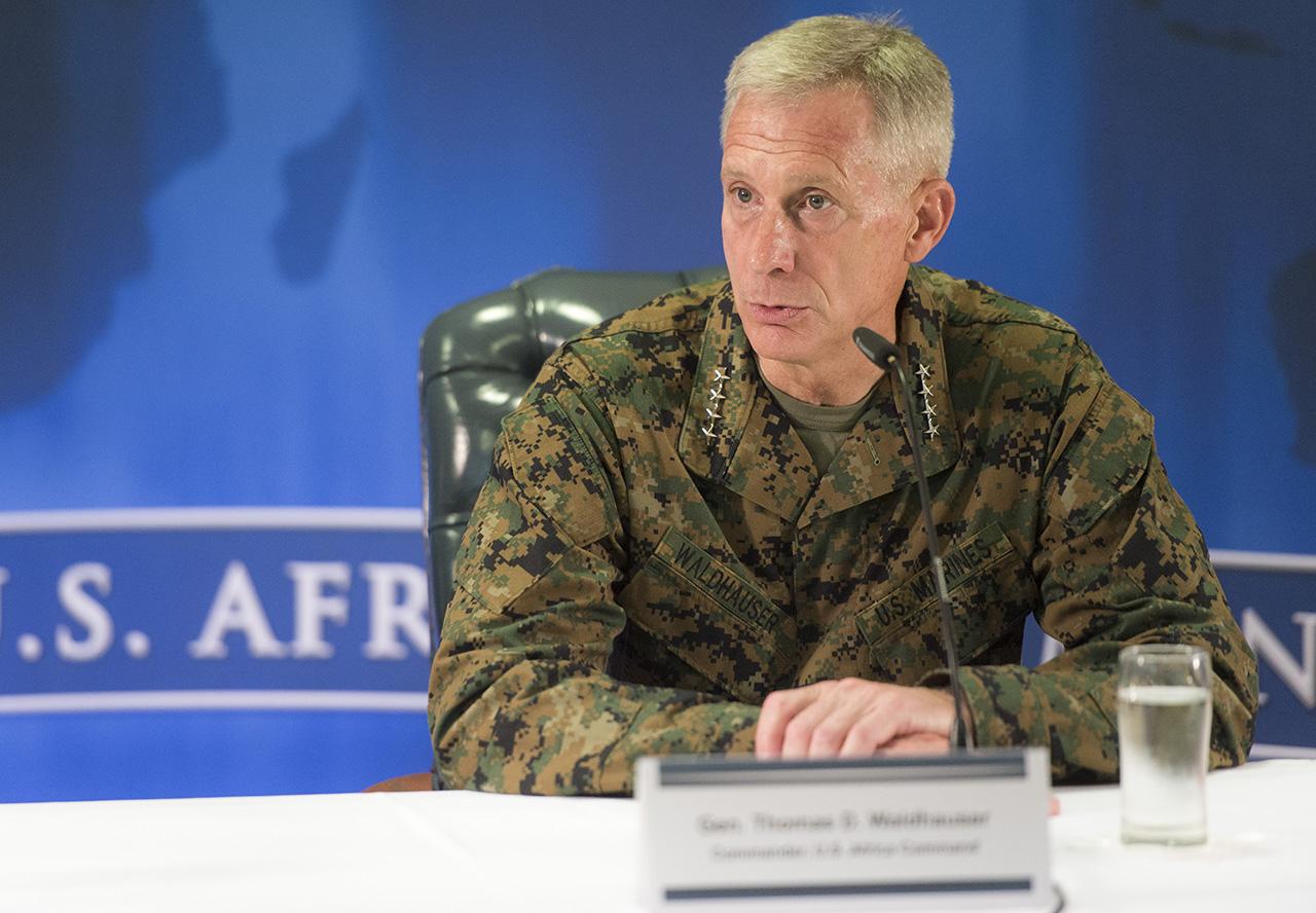 Командующий войсками США в Африке генерал Томас Уалдхаузер заявил, что проблемы Африки не могут быть решены военным путем