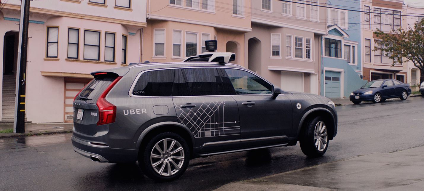 Беспилотные транспортные средства Uber оснащены несколькими системами визуализации
