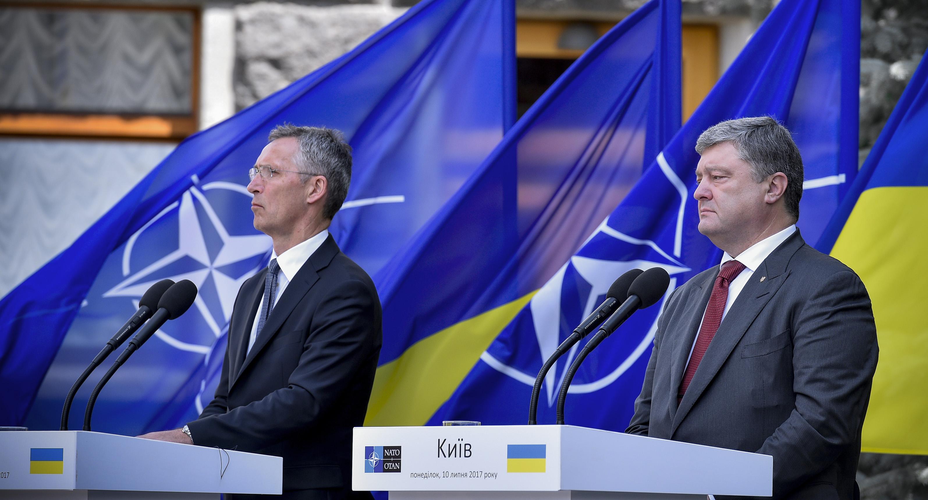 Заседание Комиссии Украина-НАТО под председательством Петра Порошенко. 10 июля 2017 года