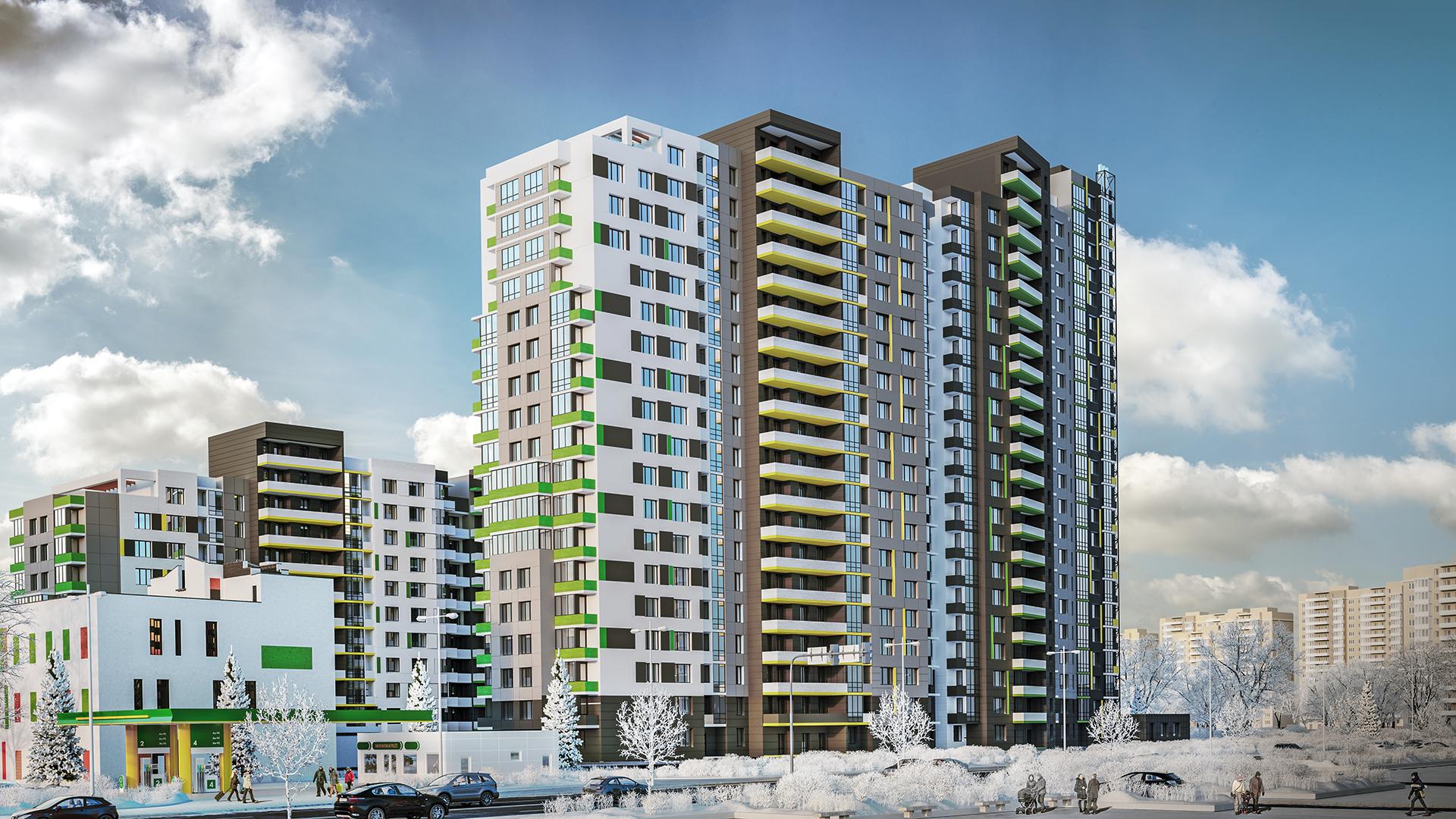 На Киев приходятся 17% общего объема жилья, введенного в эксплуатацию