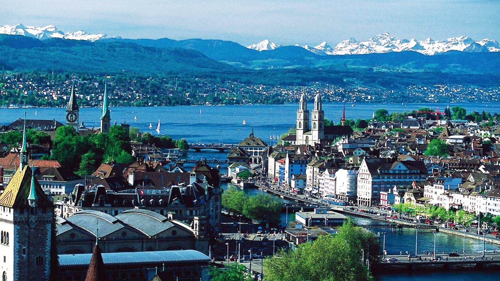 Город Цуг в северо-центральной Швейцарии заслужил прозвище «Крипто-Долина»