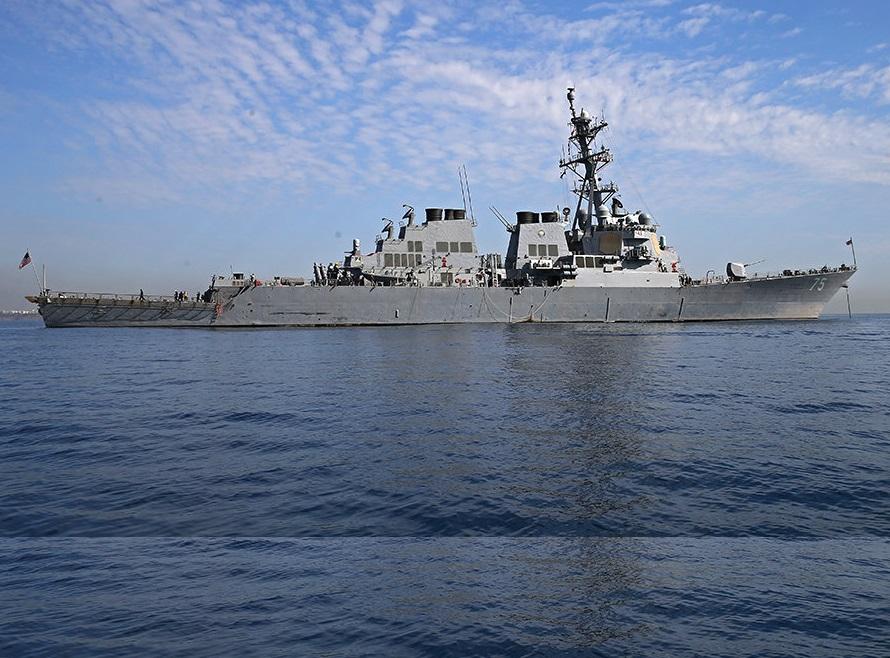 Корабли оставили базу Средиземноморья для собственной безопасности