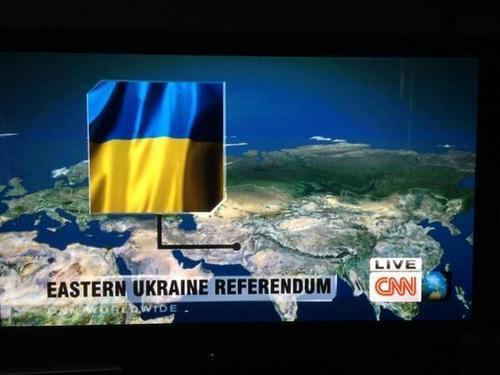 CNN продемонстрировал  спутниковые фотографии : ракеты достигли целей вСирии