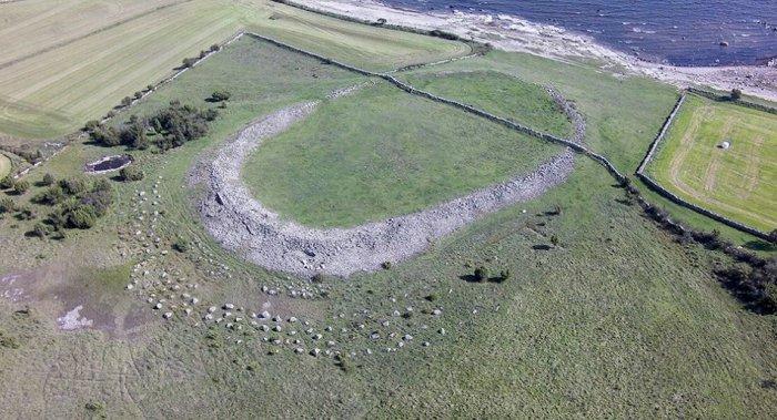 Сандби-Борг, истребленный 1500 лет назад