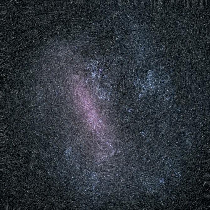 Вращение Большого Магелланового Облака / Источник: ESA